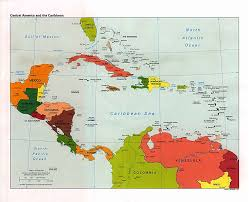Map Caribbean Caribbean Political Map U2022 Mappery