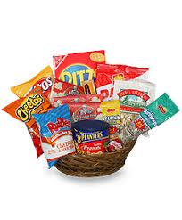 snack gift baskets salty snacks basket gift basket in columbus wi secret garden floral