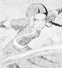 katara sketch by luaradawn on deviantart