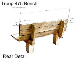 Simple Wood Bench Plans Free by Outdoor Bench Plans Bench Decoration