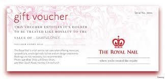 salon gift card free printable voucher templates sle customer service resume