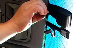 lexus ls430 mirror switch remove rear view mirror and rain sensor lexus youtube