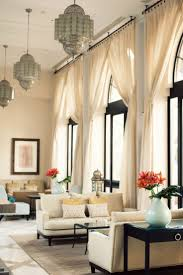 Putting Curtain Rods Up Gorgeous I Love The Illusion Of Larger Windows By Putting