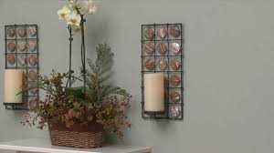 Candle Sconce Decor Tips Pillar Candle Holders For Candle Sconces With Floral