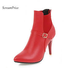 popular red dress boots buy cheap red dress boots lots from china