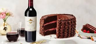 wine chocolate wine chocolate cake