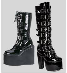 buy combat boots womens boots shoes demonia shoes platform boots demonia