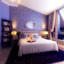 bedroom splendid nice purple wall color and decorations photo