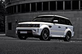 white wrapped range rover project kahn range rover sport rs car tuning