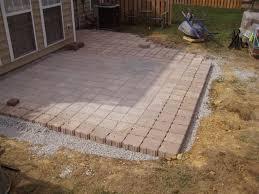 Patio Paver Design Ideas Chic Paver Backyard Alluring Small Paver Patio Home