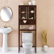 bathroom cabinets cherry finish bathroom wall cabinet featuring
