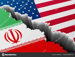 National Flag Iran Deep Iran Usa U2014 Stock Vector Unkreatives 164545576