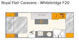 Caravan Floor Plan Layouts Royal Flair Caravans Whitebridge Australian Motor Homes