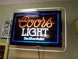 vintage coors light neon sign vintage coors light neon sign at vintique vintage beer signs