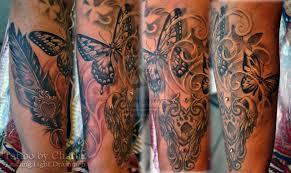 feminine tattoo designs on arm n leg photos pictures and