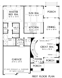 floor plans with great rooms house plan the wicklow by donald a gardner architects