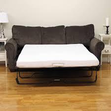 futon awesome futon reviews modern sleep memory foam 4 5 sofa