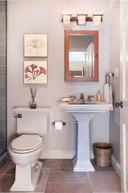 tiny bathroom idea for small space with pedestal sink and tiny bathroom idea for small space with pedestal sink and travertine tiles