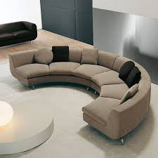 curved round shaped sectional sofa 沙發 pinterest sectional