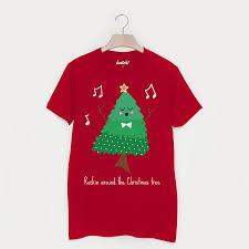 Decorate The Christmas Tree Lyrics Christmas Rockin Around The Christmas Tree Unisex T Shirt By