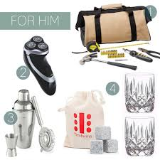 style in white christmas gift ideas under 30 for him style