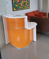 Small Desk Cheap Cheap Picture Of Wave Small Reception Desk Left Handed Counter
