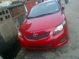 toyota corolla s 2009 for sale pictures of toyota corollas for sale in nigeria including 2000