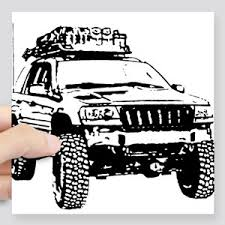 jeep grand cherokee stickers grand cherokee stickers cafepress