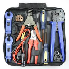 solar pv crimping tool kit for 2 5 4 6mm2 solar cable mc4 solar