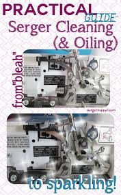 serger cleaning routine make it shine brightly serger pepper