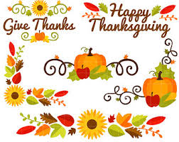 free thanksgiving border clip gclipart