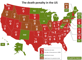 Death Penalty States Map by 101010 Is World Day Against The Death Penalty Save Vui Kong 给