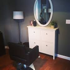 ikea hemnes shoe cabinet as a salon stylist station awesome