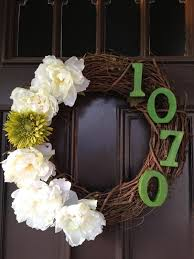 decorative wreaths for home home designs ideas