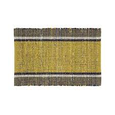yellow rugs crate and barrel
