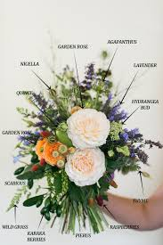 bouquet of fruits a summer bridal bouquet of foraged flowers fruits chic vintage