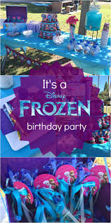 Diy Birthday Party Theme Ideas Disney U0027s Frozen Birthday Party Ideas Pink Purple Blue U0026 A