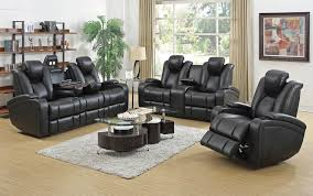 Power Leather Recliner Sofa Awesome Black Leather Reclining Sofa Gallardo Power Recliner Sofa
