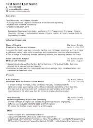 Sample Resumes For Engineering Students by Sample Resume For College Student Looking For Summer Job Resume