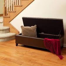 Storage Ottoman Stool by Sofa Brown Storage Ottoman Ottoman Furniture Ottoman Stool