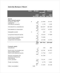 income statement and balance sheet template aiyin template source