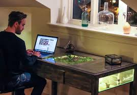 Work Desk Ideas Yourself That Nature Still Exists With A Terrarium Work Desk
