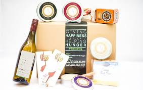 wine gift boxes wine cheeses crackers chocolate and onehope wine gift box