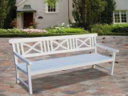 stylish white wood outdoor bench garden bench design plans aralsa