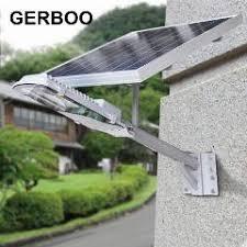 Outdoor Lighting Timer Solar Integrated Street Lamp 16v 12w Solar Panel Led Outdoor