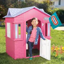 Little Tikes Girls Bed by Pink Cottage Playhouse Girls Outdoor Playhouse Little Tikes