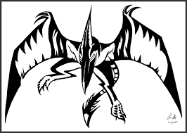 pteranodon tattoo dusky hawk by tattooflash on deviantart