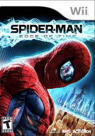 amazon com spider man the edge of time nintendo wii video games