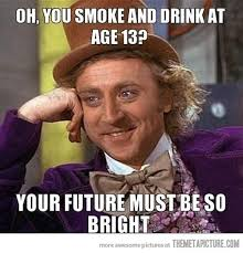 Funny Wonka Memes - teenagers these days the meta picture