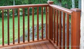 Decking Kits With Handrails Ipe Decking Handrail Ipe Balusters